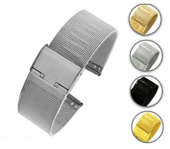 China New Lug Width 12 14 16 18 20 22 24mm Rose Gold Stainless Steel ...