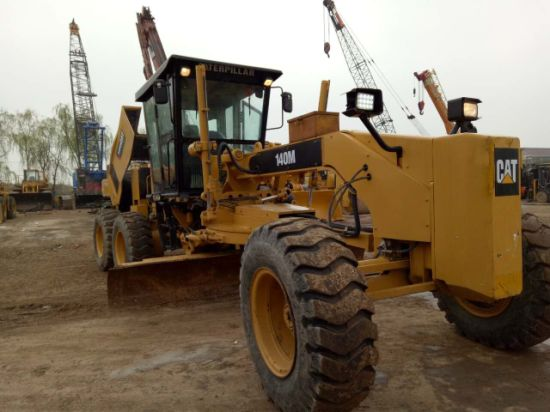 China Used/Second-Hand Cat Grader 140m for Engineering Equipment