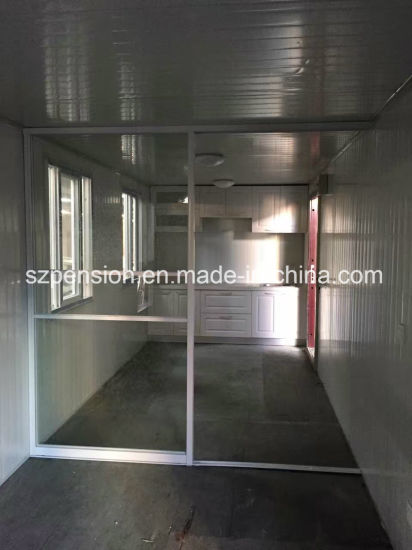 Modern Modified Container Prefabricated Sunshine House pictures & photos