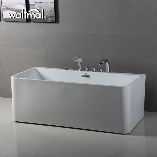 china kohler oem waltmal freestanding bathtub with massage jet
