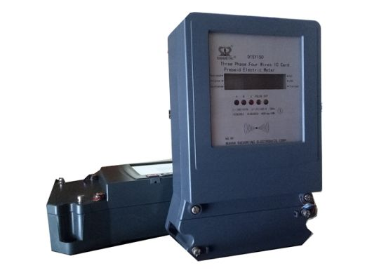 LCD Display Low Power Consumption Three Phase Electronic Energy/Power Meter