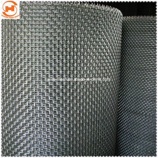 Galvanized/Stainless Steel Crimped Wire Mesh pictures & photos