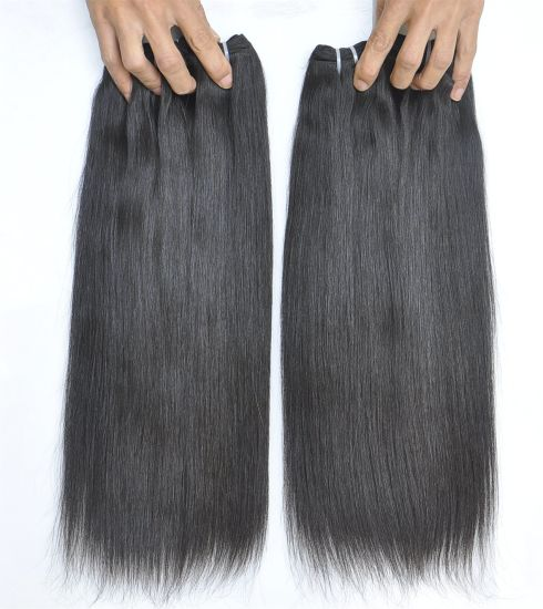 Brazilian Hair Extension Virgin Remy Straight Human Hair Weave pictures & photos