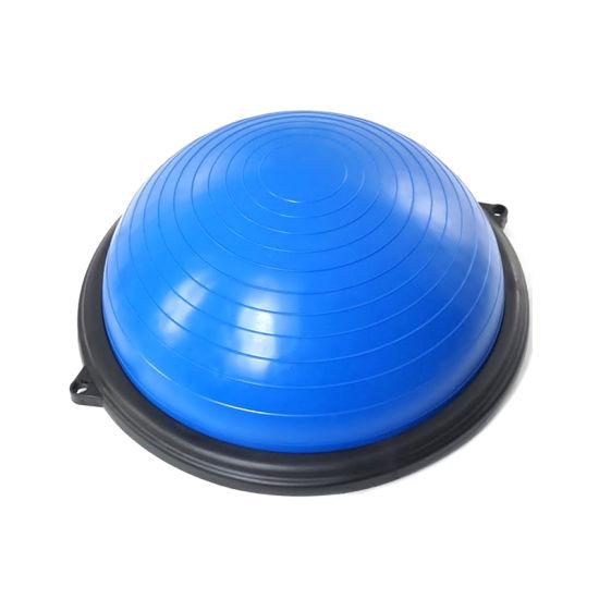China Semi Circle Pedaling Household Half Balance Ball Half Round Bosu Ball China Mini Balance Trainer Yoga Half Ball Bosu Ball And Balance Trainer Half Ball Bosu Ball For Gym Price
