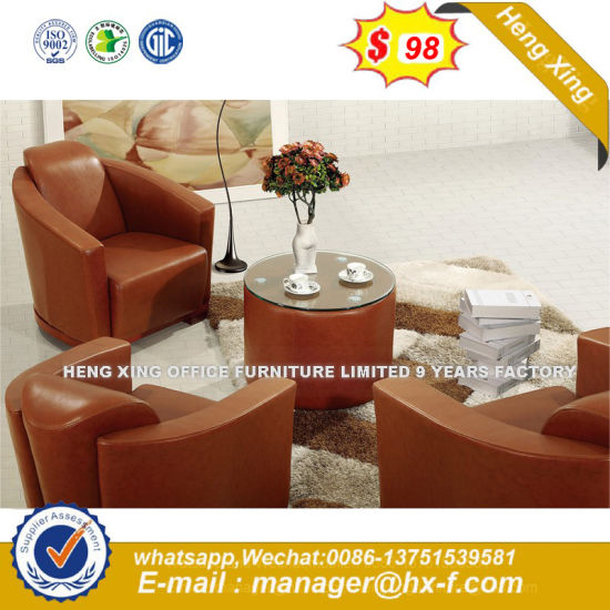 $288 Best-Selling Modern Living Room 1+2+3 Leather Sofa (HX-S352) pictures & photos