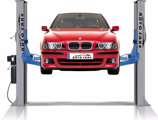 Manula Release Floor Plate Type Hydraulic Auto Lift