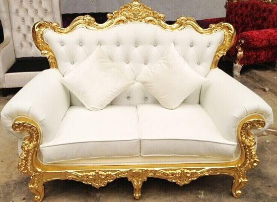 Modern Royal Event Sofa For Wedding Wooden Chair Throne Chair Party
