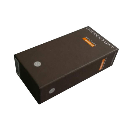 Customized Recycled Hardboard Paper Packaging Gift Boxes with Cover Insert
