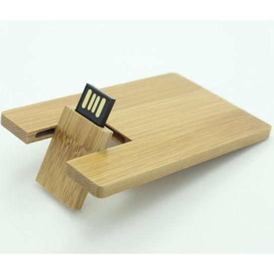Wooden USB Business Card USB 2.0 Flash Memory Stick Pen Thumb Drive 8GB
