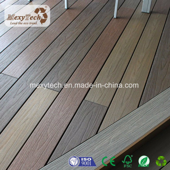 Anti UV Wood Plastic Composite Decking Board pictures & photos