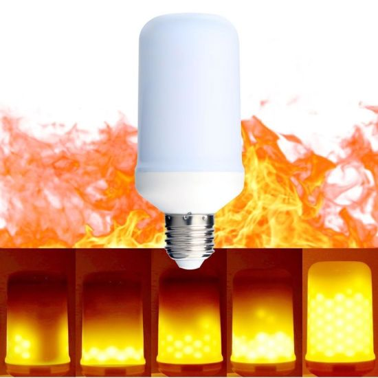 4W E27 LED Flicker Flame Candle LED Light Bulbs