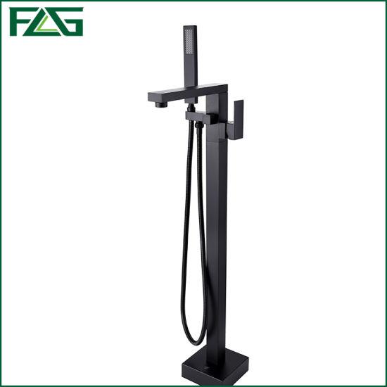 Flg New Design Bathroom Floor Standing Faucet Sanitary Ware