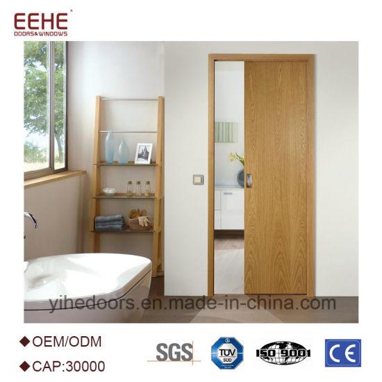 China Wood Sliding Door Sliding Barn Door Interior And Exterior