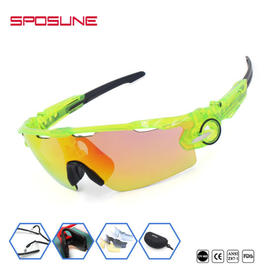 ed3ca681fddd China Best Polarized Bike Riding Wrap Around Cycling Sunglasses ...