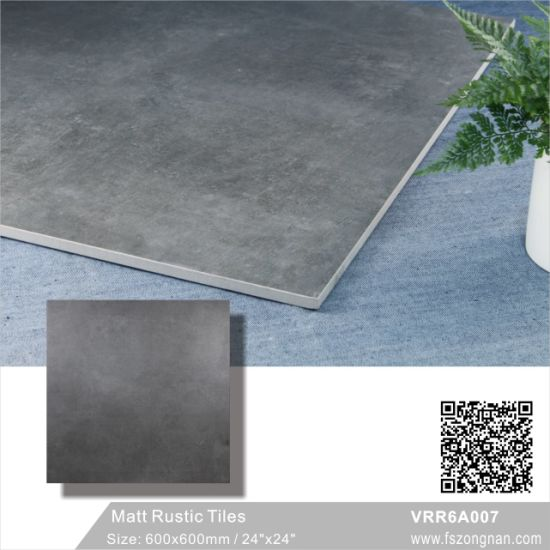 Gray China Foshan Building Material Cement Rustic Ceramic Porcelain