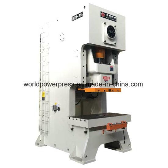 China 300 Ton C Frame Single Crank Mechanical Punch Press - China ...