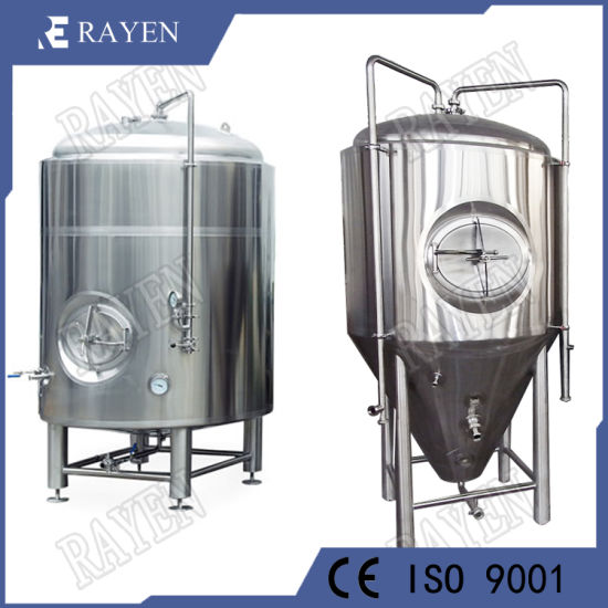 1000 Gallon Stainless Steel Wine Conical Jacket Storage Fermenter Vessel Brewery Brignt Beer Fermentation Tank pictures & photos