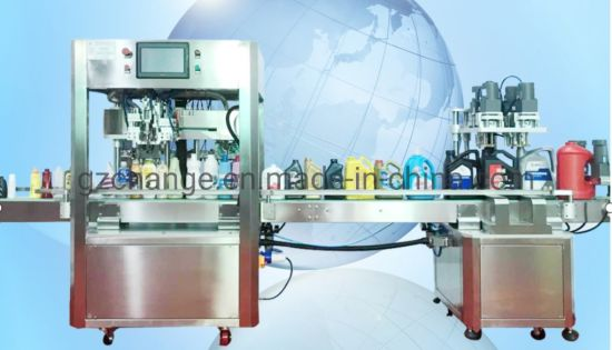 Automatic Hand Sanitizer Tracking Synchronous Filling Machine