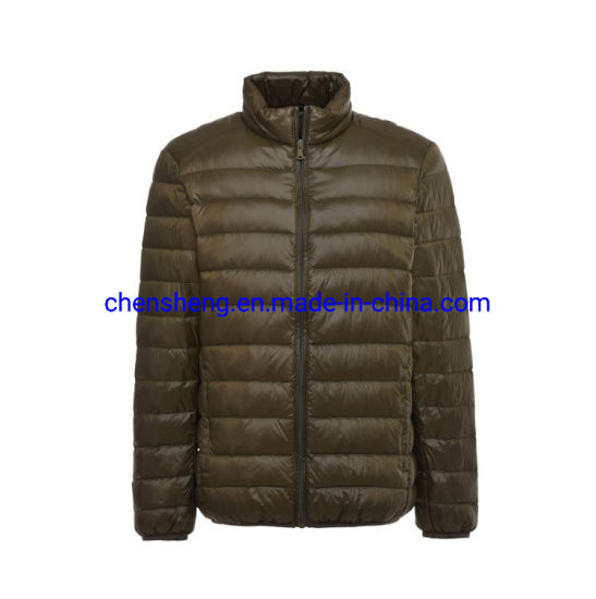 in Stock Cheap Down Coat Men's Cotton Light Jacket