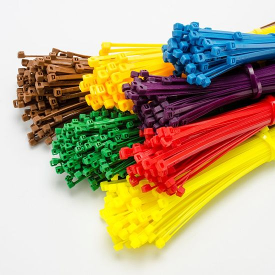 Colourful Plastic Tie Self-Locking Nylon Cable Ties