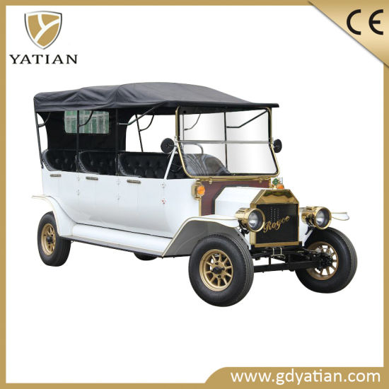 Superior Quality 5kw Classic Electric Vehicle Golf Cart