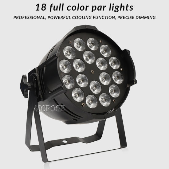 18X12W RGBW 4in1 LED PAR Light for Stage Lighting