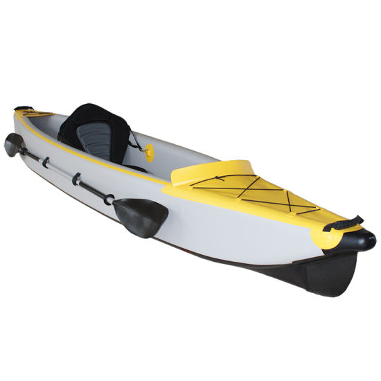 Best Seller PVC Material Drop Stitch Floor Inflatable Kayak China Factory