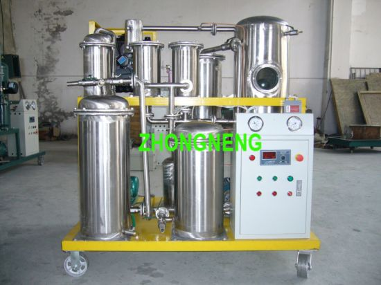Edible Oil Filtration Machine, Food Grade Cooking Oil Purification and Cleaning Unit
