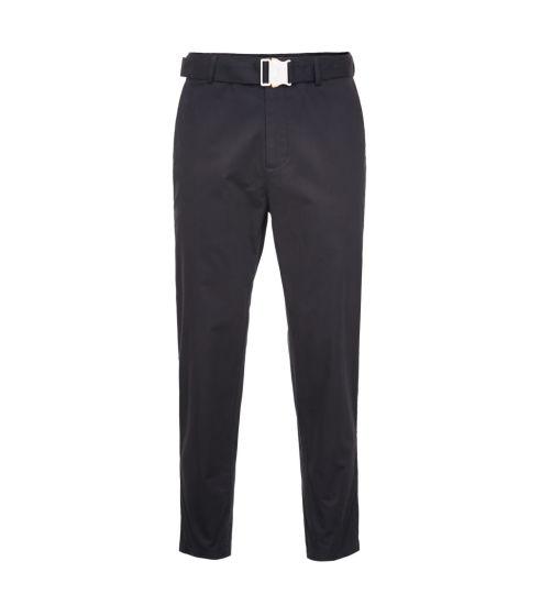 Wholesale Custom Men's Spring Cotton Leisure Business All-Match Pure Color Nine-Cent Pants