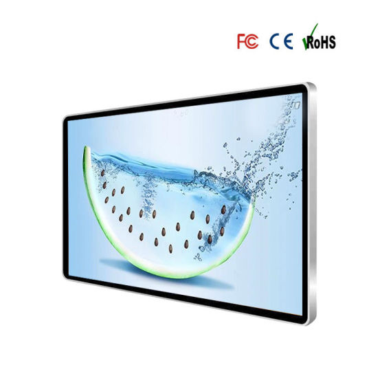 55 Inch Indoor LCD Display Customized Funtions with LG Panel Touch Screen