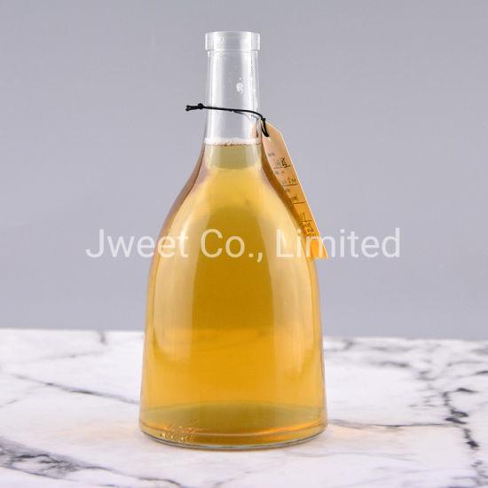 700ml Cone Shape Glass Bottle for Whisky Rum Vodka Tequila