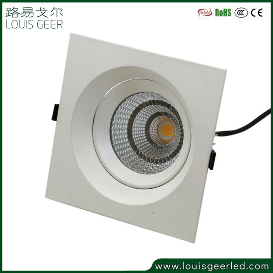 China Living Room Reading Room Led Light Bulbs Led Downlight Dimmable Recessed Cob Ceiling Light China Led Light Bulbs Led Panel Light