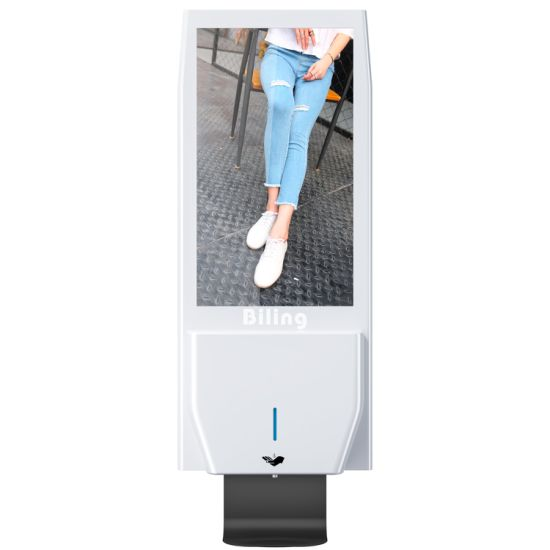New Design Wall Stand 21.5 Inch Digital Signage Hand Sanitizer