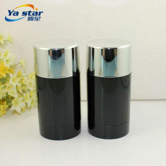 China Wholesale Round Stocked Empty Plastic Cream Deodorant