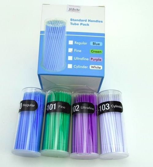 Dental Micro Applicator Brushes, Non-Lint Fibers Micro Tip Applicator pictures & photos