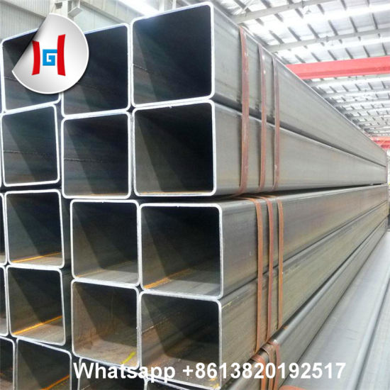 Galvanized Round Square Jisg3444 Stk400 / Stk490 Seamless Carbon Steel Pipe Tubes pictures & photos
