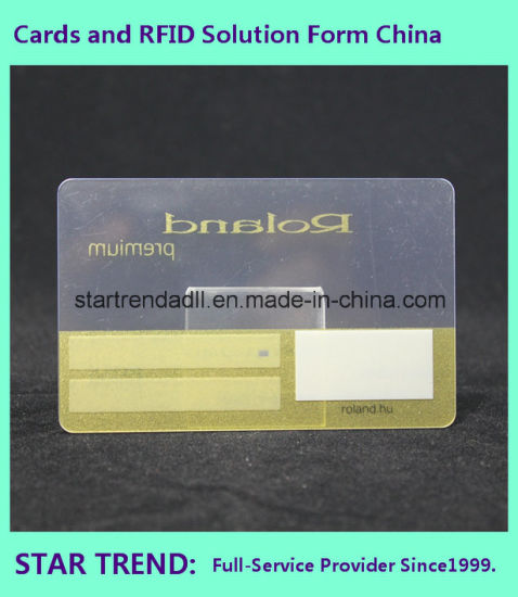 Clear Card with Emboss Color for Business pictures & photos