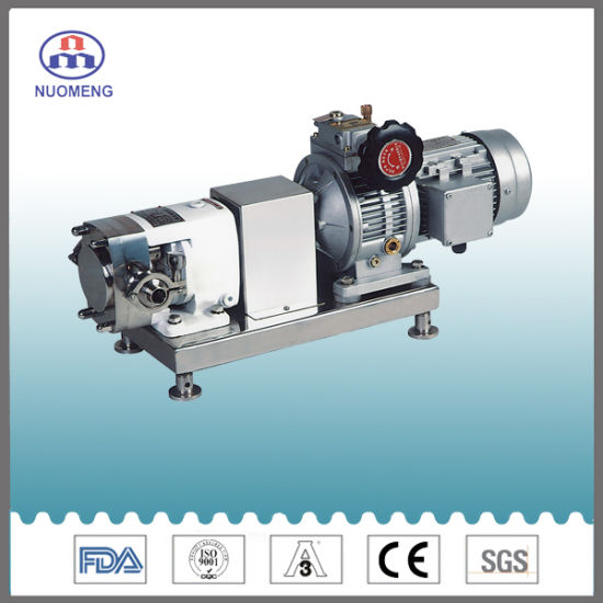 Sanitary Stainless Steel SS304/316L Lobe Pump