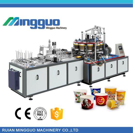 Automatic Paper Bucket Machine for Popcorn Kfc Bucket