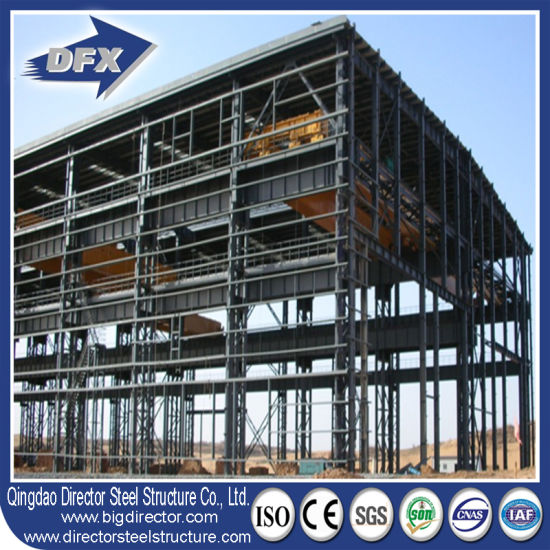4ab6f6b79319 China Prefabricated Long Span High Rise Steel Frame Structure ...