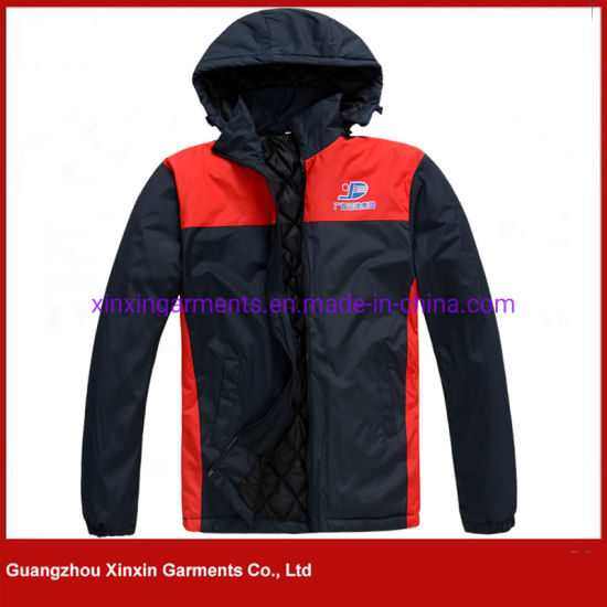 Custom Made Cheap Mens Lightweight Padded Polyester Jacket for Winter for Working Uniform (J416) pictures & photos