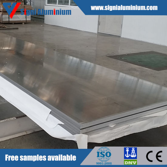 5052 Thick Aluminium Plate for Fuel Tanker
