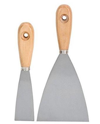 Painter Used Plastering Tools Putty Knife Set