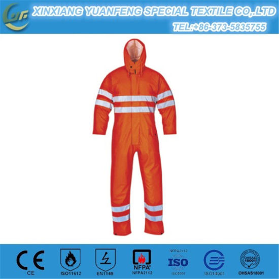 Aramid Safety Flame Resistant Teflon Clothing for Fire Fighters pictures & photos