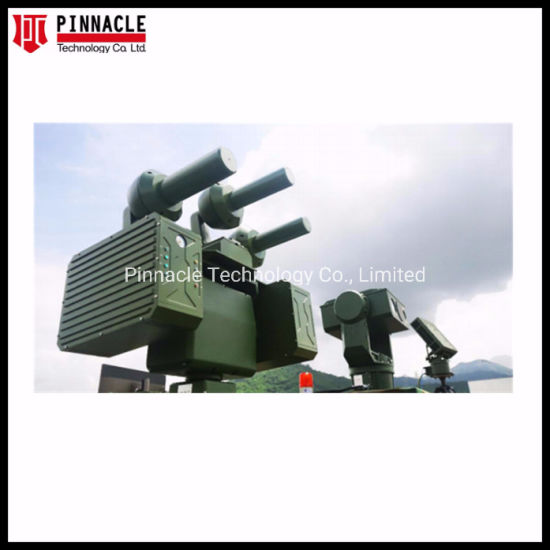 3km Range Radar Detection Fixed Uav Drone Defense System Drone Signal Jammer with Camera