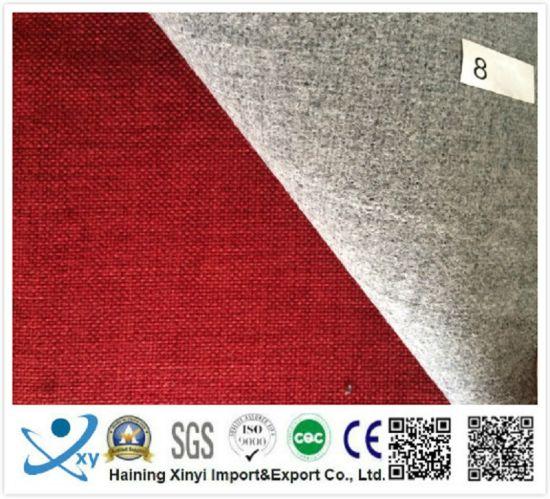 Hot Sale 100 Polyester Linen Fabric, Fire Retardant Curtain Fabric