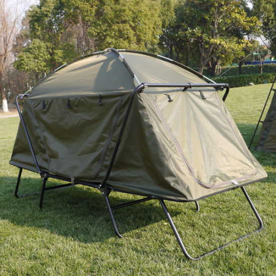 Tent Bed Cot for Outdoor Leisure Camping and Carp Fishing pictures & photos