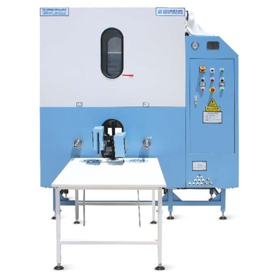 4 Pipe Quick Stable flexible Flow Down Feather Filling Machine