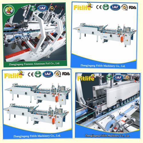 2018 Hotsale New Factory Price Carton Folder Gluer Machine Fdf-800 pictures & photos