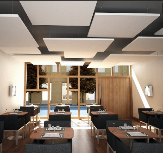 China Different Types Of Fiberglass Insulated Decorative Ceiling